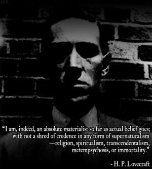 Lovecraft's quote #3