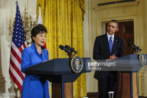 Obama And South Korean President Park Geun hye Meet Hold Joint News