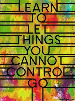 Things You Can't Control