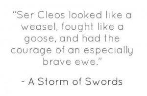 George R.R Martin, A Storm of Swords