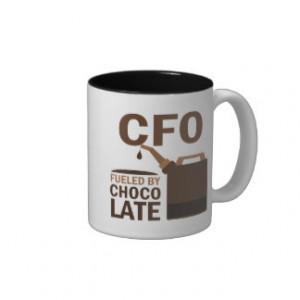 Cfo (Funny) Gift Coffee Mugs