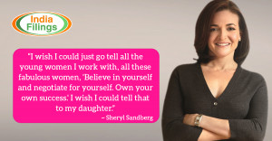 Sheryl Sandberg Quote on Women Entrepreneurship