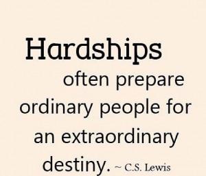quotes, hardship