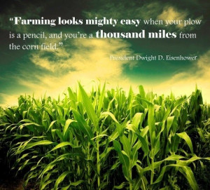Quotes About Agriculture | Inspirational quotes / Farming ...