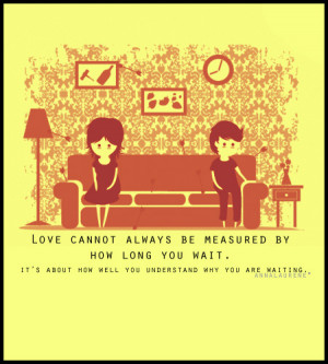 ... Waiting: Quote About How Well You Understand Why You Are Waiting