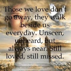 missing someone in heaven quotes | ... and teriann to all my siblings ...