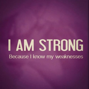 Am Strong I am strong