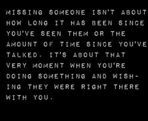 quotes about missing someone who has passed away