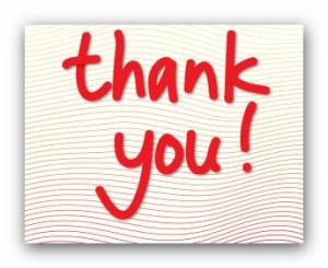 appreciation, thank you, appreciate, thank you