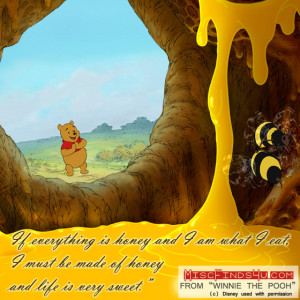quotes about winnie the pooh honey