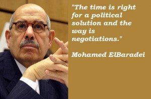 Mohamed elbaradei famous quotes 5