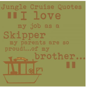 Jungle Cruise quote