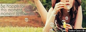 Happy Moment Facebook Cover