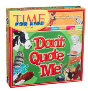 Buy Don't Quote Me TIME for Kids Game
