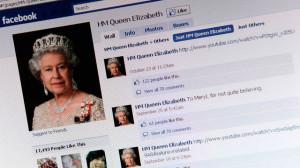 Queen Elizabeth Debuts on Facebook
