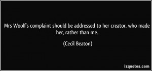 More Cecil Beaton Quotes