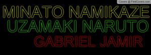 MINATO NAMIKAZE Profile Facebook Covers