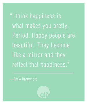 Drew barrymore quote beauty