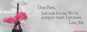 Dear Paris Just Wait For Me Cover