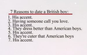 american boys, better, british accent, british boys, cuter, love, one ...