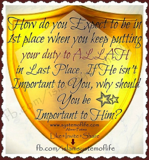 ... Place When U Keep Ur Duty To Allah In Last Place 20130529 1689324057