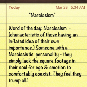 Narcissistic Quotes Now your quotes tongue