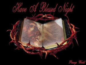 Have a blessed night Pictures, Images and Photos