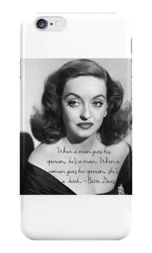 TheIzzySquishy › Portfolio › Bette Davis quote