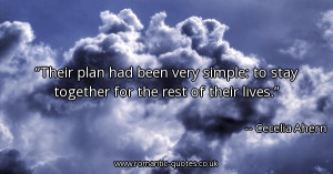 their-plan-had-been-very-simple-to-stay-together-for-the-rest-of-their ...