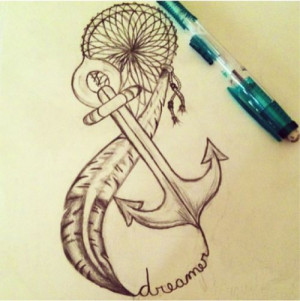 dream-catcher-anchor-feather-infinity-the-ultimate-white-girl-tattoo ...