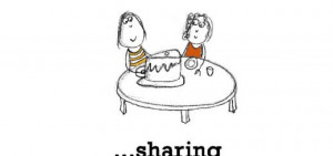 Sharing Food With Friends Quotes Friendship is, sharing the