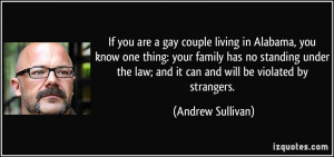 If you are a gay couple living in Alabama, you know one thing: your ...