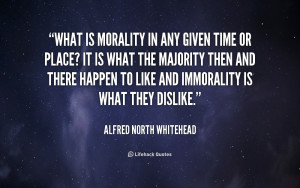 Quotes About Morality