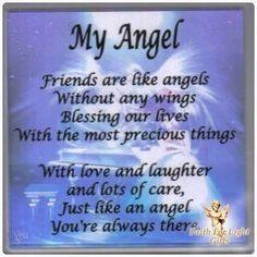 My Angel in Heaven Poem | My Angel - Angels Fan Art (9959501) - Fanpop ...