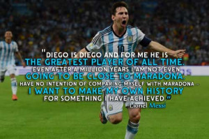 Top Messi Quotes