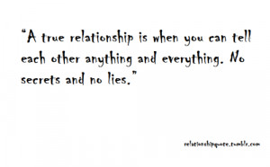 Quotes on Lies And Secrets Secret Relationship Quotes