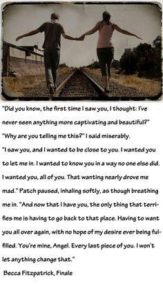Hush Hush Finale Quotes Becca fitzpatrick,