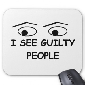 see guilty people mouse pad