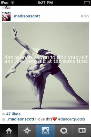 Dance is amazing