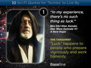 Ten Sci-Fi Quotes for 'Techies' to Live By