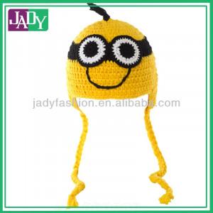 giallo divertente carino bambini minion crochet berretti cappelli