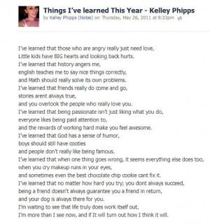 essay about my senior year