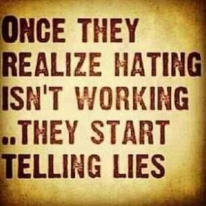 Or stealing.....and they justify the lies and theft