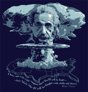 Albert Einstein: Nuclear Weapons [aliens don't like nukes]