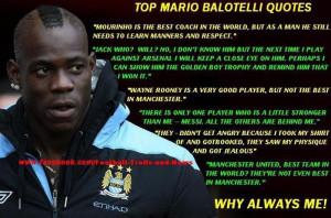 Top Mario Balotelli Quotes