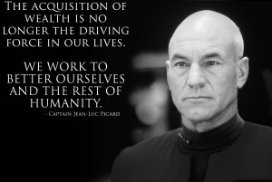 Captain Jean-Luc Picard motivational inspirational love life quotes ...