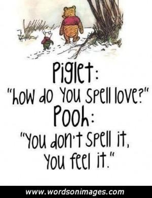 Pooh bear friends...