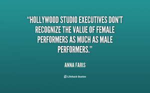 Hollywood studio executives don't recognize the value of female ...