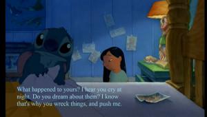 Sad Lilo And Stitch Quotes Sad stitch - viewing gallery