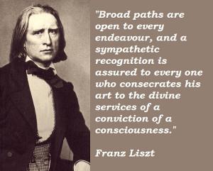 Franz Liszt's Quotes